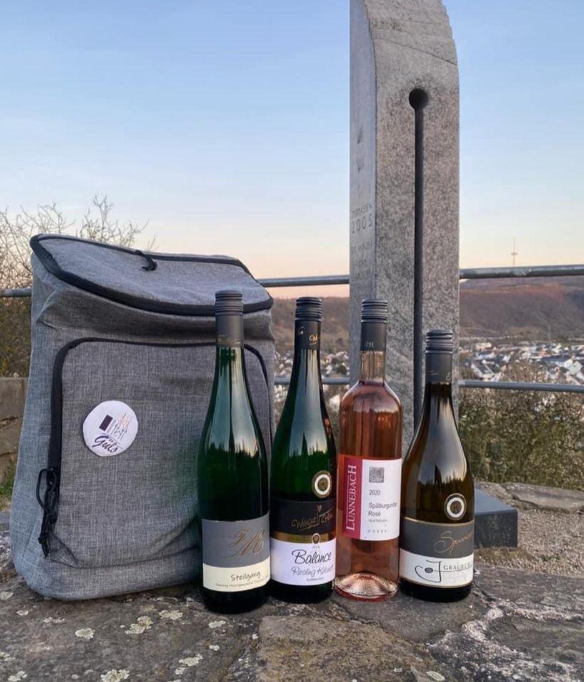 Weinpaket für den Blütenfestwalk 2021 von den Gülser Blütenfestwinzern